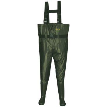 Proline Green River Nylon Chest Wader - Rubber Sole - Men&039;s Save 25% Brand Proline.