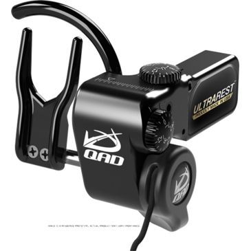 Qad Arrow Rest Ultra-Rest Mxt W/micro Adjustment Black Right Handed Save $15.00 Brand Qad.