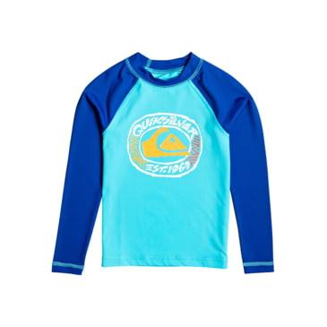 Quiksilver Little Bubble Dreams Long Sleeve Boy UPF 50 Sun Protection
