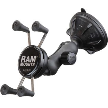 Ram Mounts Univ. X-Grip Phone Holder, 2.8in Suc. Cup Save 11% Brand Ram Mounts.