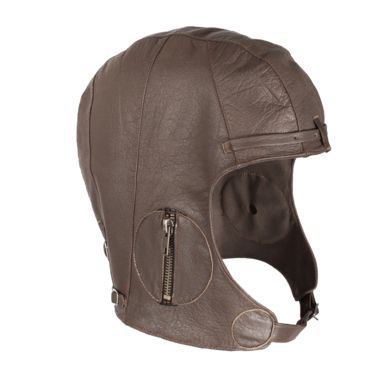 Rothco Leather Chocolate Brown Pilot Helmet Save 26% Brand Rothco.