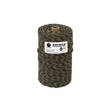 Rothco Nylon Paracord 550lb 300 Ft Tube Save 27% Brand Rothco.