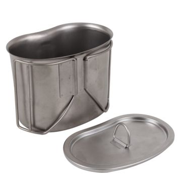 Rothco Stainless Steel Canteen Cup Lid Save 17% Brand Rothco.