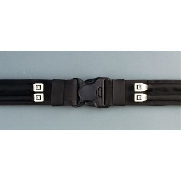 Safariland 4302 Nylokpro/p.v.c. Laminated Duty Belt W/two Flex - Cuff Channels, Full Length Hook Lining, 2 4302-0-4 Save $2.00 Brand Safariland.