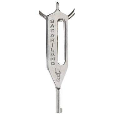 Safariland Hk-10 Handcuff Key, Stainless Steel Save 18% Brand Safariland.