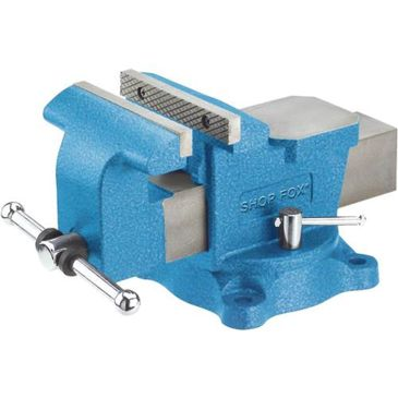 Shop Fox Dual-Locking Lever Bench Vise W/ Swivel Base Save Up To 19% Brand Shop Fox.