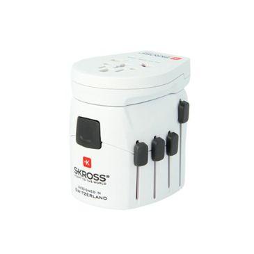 Skross World Travel Adapter, Pro World Usb Brand Skross.