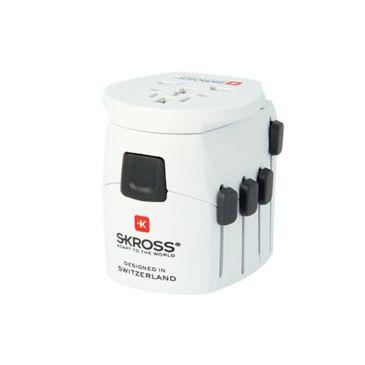 Skross World Travel Adapter, Pro World Brand Skross.