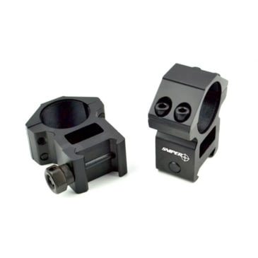 Tacks High Profile A R-ArmourTac Scope Mount Rings for Picatinny Rail 1 inch