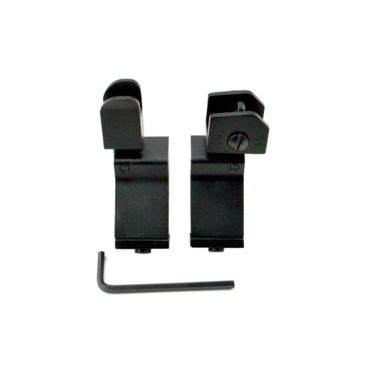 Sniper Rapid Transition Ar-15 Style Flip Up Front & Rear Iron Sights Combo Set Save 10% Brand Sniper.