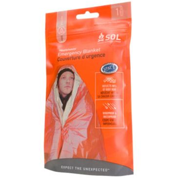 Sol Emergency Survival Heat Reflective Blanket Save Up To 21% Brand Sol.