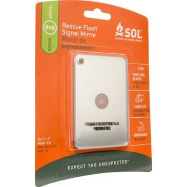 Sol Rescue Flash Emergency Signaling Mirror 0140-1003 Brand Sol.