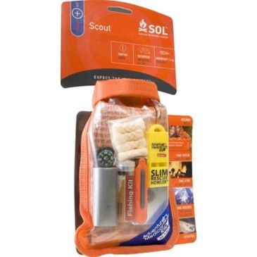Sol Scout Emergency Survival Kit 0140-1727 Save 15% Brand Sol.