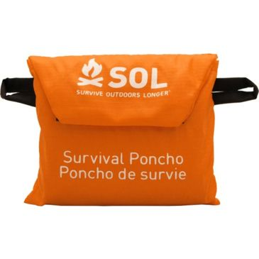 Sol Survival Poncho 0140-6000 Save 15% Brand Sol.