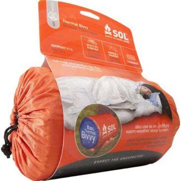 Sol Thermal Bivvy Heat Reflective Survival Sleeping Bag 0140-1223 Save 33% Brand Sol.