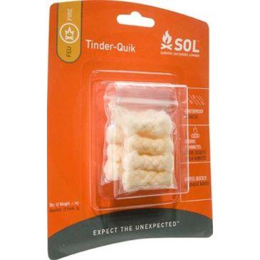 Sol Tinder Quik Refill - 12 Pieces 0140-0006 Brand Sol.