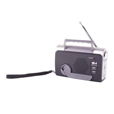 Stansport Fm-Weather Band Dynamo Radio With Led Light-Siren Save 39% Brand Stansport.