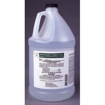 Steris Spor-Klenz Ready-To-Use Sterilant/disinfectant, Steris 652501 3.2 L (0.8 Gal.) Pour Bottle Brand Steris.