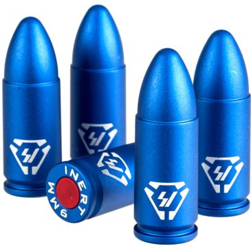 Strike Industries Aluminum Dummy Rounds-9mm - 5pk Save 27% Brand Strike Industries.