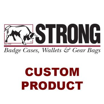 Strong Leather Company - Double Thick Recessed Badge Holder For Neck Or Belt Save Up To 33% Brand Strong Leather Company.