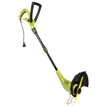 Sun Joe Electric Sharper Blade 2-In-1 Stringless Lawn Trimmer And Edger Save 27% Brand Sun Joe.
