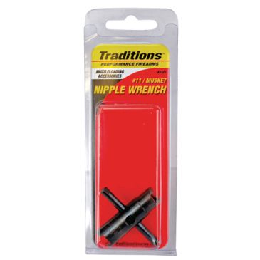 Traditions Universal Two Ended Nipple Wrench Fits 11 And Musket Nipples A1421 Save 41% Brand Traditions.