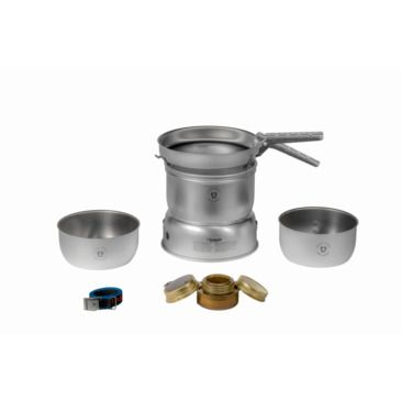 Trangia 27-21 Duossal 2.0 Stove Kit - Stainless Steel Lined Pans Save 10% Brand Trangia.