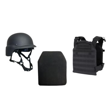 United Shield Active Shooter Level Iv, Pst 650 Helmet, Zeta6h Plates Save 39% Brand United Shield.