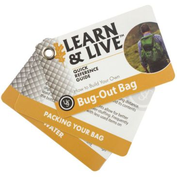 Ust Learn And Live Cards - Bug-Out Bag Brand Ust.