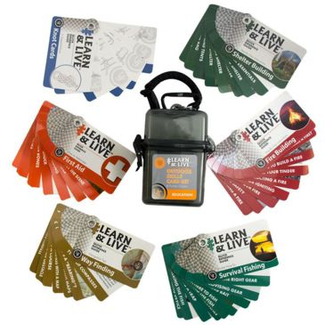 Ust Learn And Live - Outdoor Skill Set Save 25% Brand Ust.