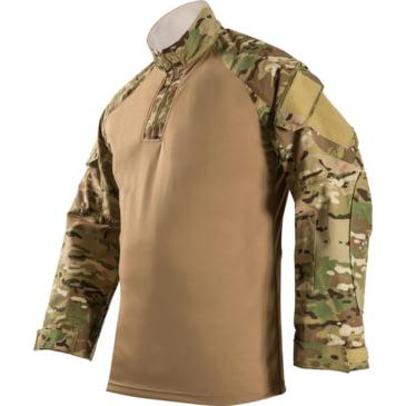 XL Desert Tan Long Sleeve New in Package Vertx Recon Combat Tactical Shirt