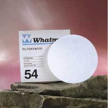 Whatman Grade No. 54 Quantitative Filter Paper, Low Ash, Whatman 1454-185 Filter Circles Brand Whatman.