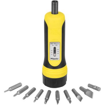 Wheeler Fat Torque Wrench Screwdriver With 10 Bit Set 553556best Rated Save 28% Brand Wheeler Engineering.
