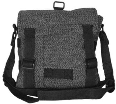 Fox Outdoor German Shoulder/Bread Bag Mini, Black - Salt and Pepper 099598426811