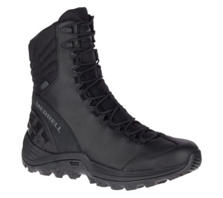 c4388707b6b Details about Merrell Tactical Thermo Rogue Tactical Waterproof Boot Ice+,  Black, 9,