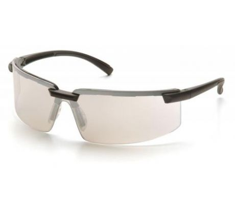 Pyramex Surveyor Safety Glasses - Black Frame Indoor Outdoor Mirror Lens, Pack o at Sears.com