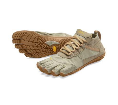 Vibram FiveFingers V-Trek Camp shoes, Five Fingers - Women's, Khaki Gum, 39, 18W7