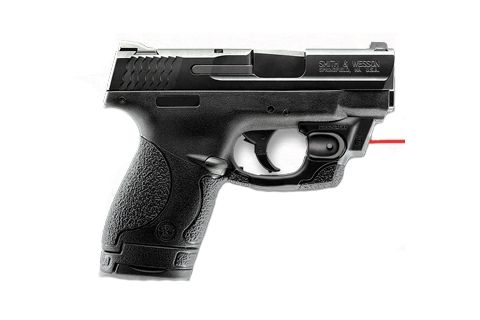 m and p shield laser  ... CenterFire Red Laser