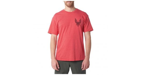 5.11 Tactical Eagle Rock Tee, Red Heather, XL, - 1 out of 9 models