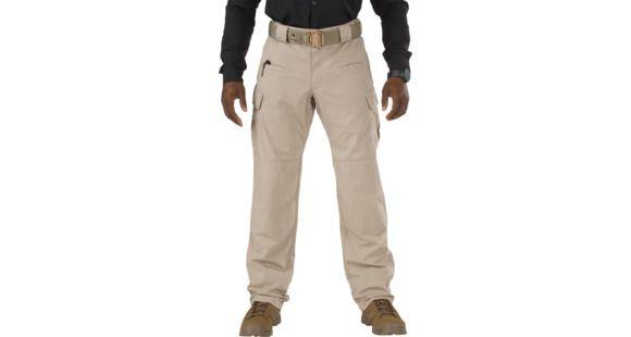 e2a13b3e 5.11 Tactical Stryke Pants w/ Flex-Tac, Khaki, 40W x 34L  74369-055-KHAKI-40-34