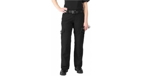eed84bdbd7d1af 5.11 Tactical Women's Taclite EMS Pants, Black, Waist L, Length 8 64369-