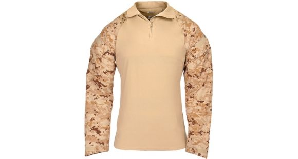 778074316 BlackHawk HPFU Long Sleeve Combat Shirt - no I.T.S. - DM3 Desert Digital