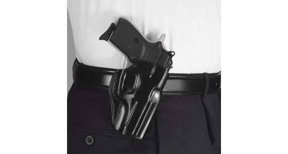 Galco Stinger Belt Holster - Right Hand, Black, For Glock 26/27/33 SG286B