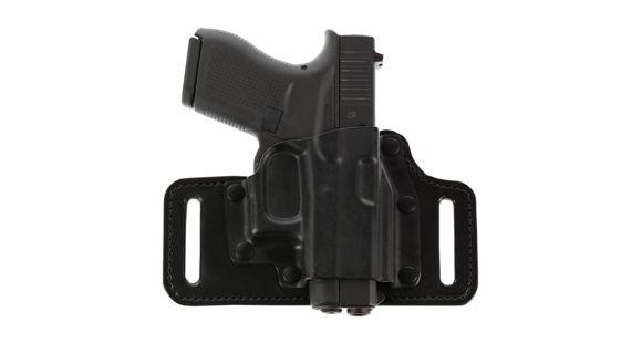 Galco TAC Slide Belt Holster For Glock 17,19,22,23,26,27,31,32,33 Black  Right TS224B