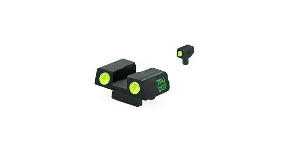 Meprolight Night Sight, Green Front & Rear, Bersa Thunder 9 & 40 ACP,  ML10240 — Color: Black/Green Illumination, Gun Model: 9 & 40 ACP Pistols,