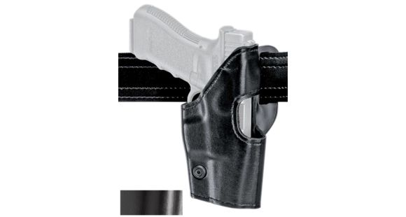 Safariland Model 295 Mid-Ride Level-II Duty Holster, Glock 20/21, Right  Hand, Hi-Gloss Black, 295-383-91