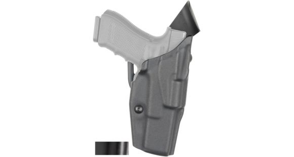 Safariland Model 6390 ALS Mid-Ride Level-I Duty Holster, Glock 19/23/32,  Right Hand, STX Hi-Gloss Black, 6390-283-491