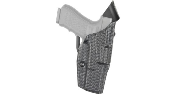 Safariland Model 6390 ALS Mid-Ride Level-I Duty Holster, Glock 34/35, Right  Hand, STX Basket Weave Black, 6390-683-481