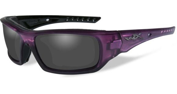 3d4d27c216 Wiley X WX Arrow Sunglasses - Smoke Grey Lens   Crystal Plum Frame
