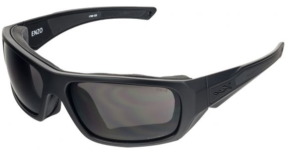 b53d28df97c0 Product Info for Wiley X Enzo Sunglasses, Matte Black Frame/ Black Ops  Grey, CCENZ01